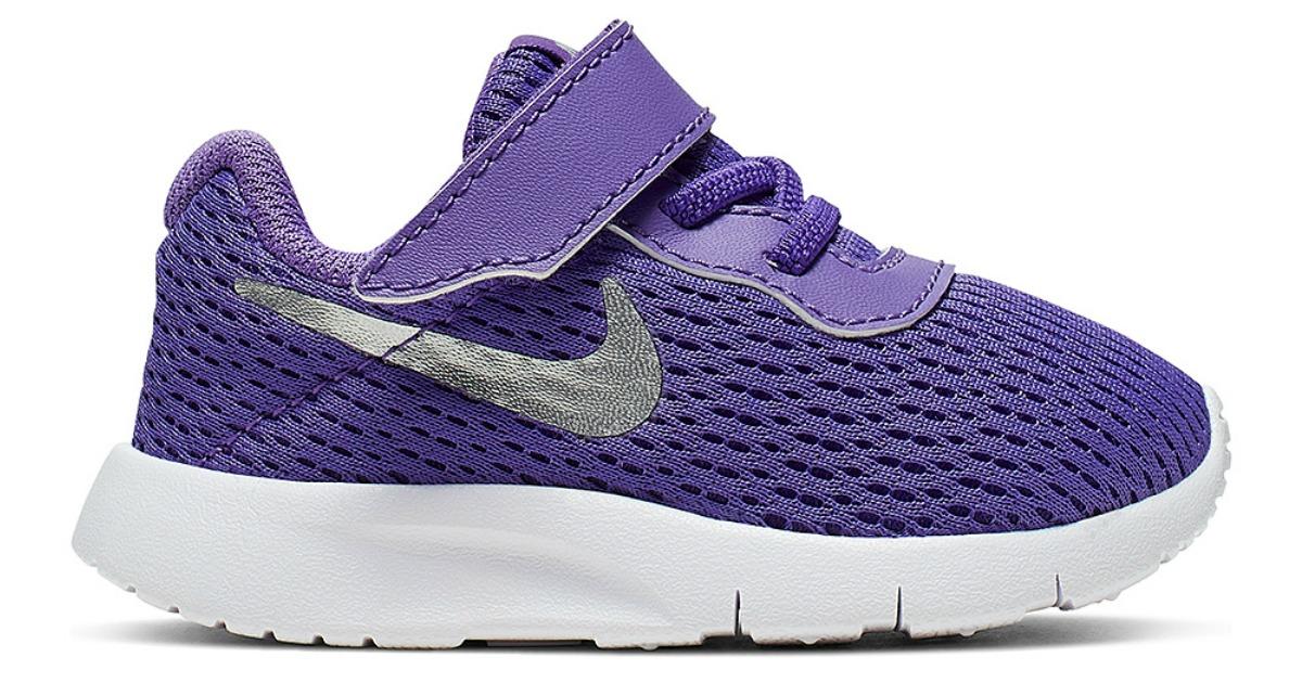 nike girls purple sneakers