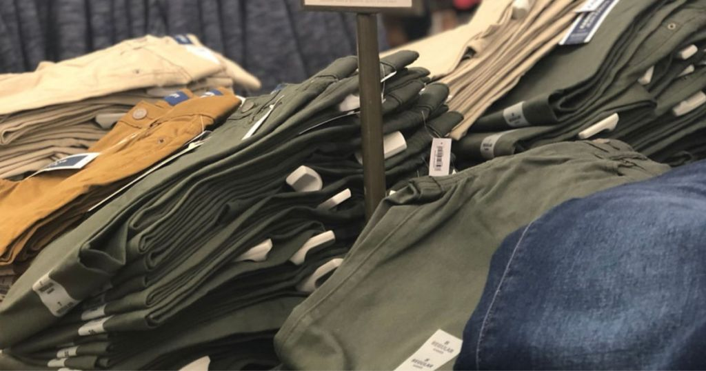 Old Navy Men's Pants on table