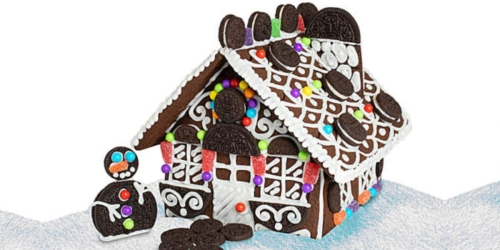 Ditch the Gingerbread! These OREO Holiday Cookie Houses Look Like More Fun