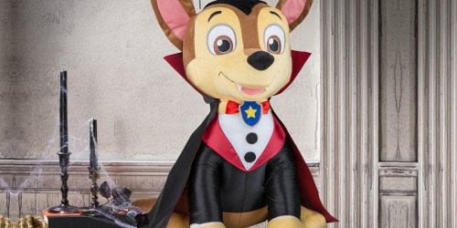 Paw Patrol 22″ Chase Vampire Greeter Plush Toy Just $4.82 at Walmart.com