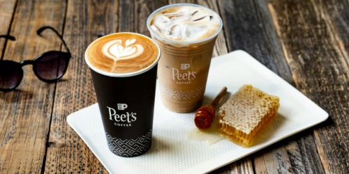 FREE $5 Reward for New Peet's Coffee Rewards Members