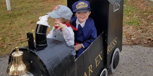 Tow the Kids Around this Halloween with a Wagon that Fits their Costume!