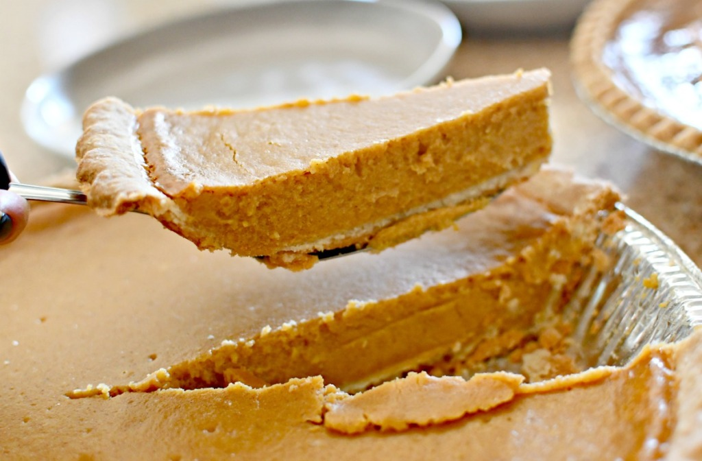 pumpkin pie from sam's club