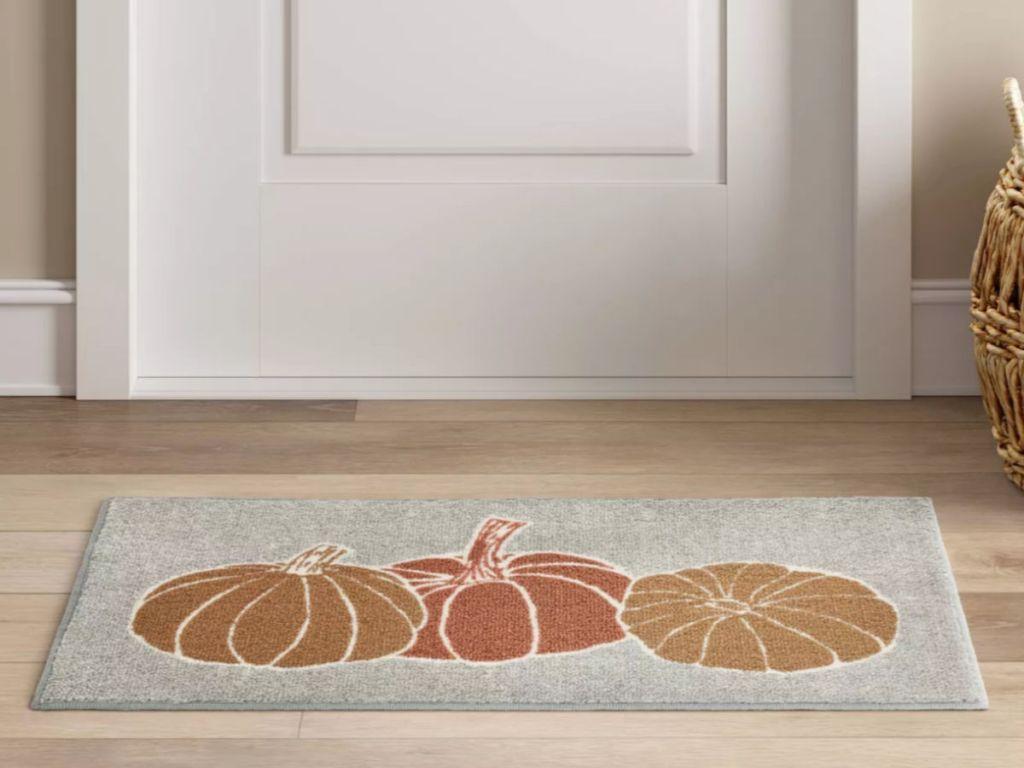 pumpkin rugs at target