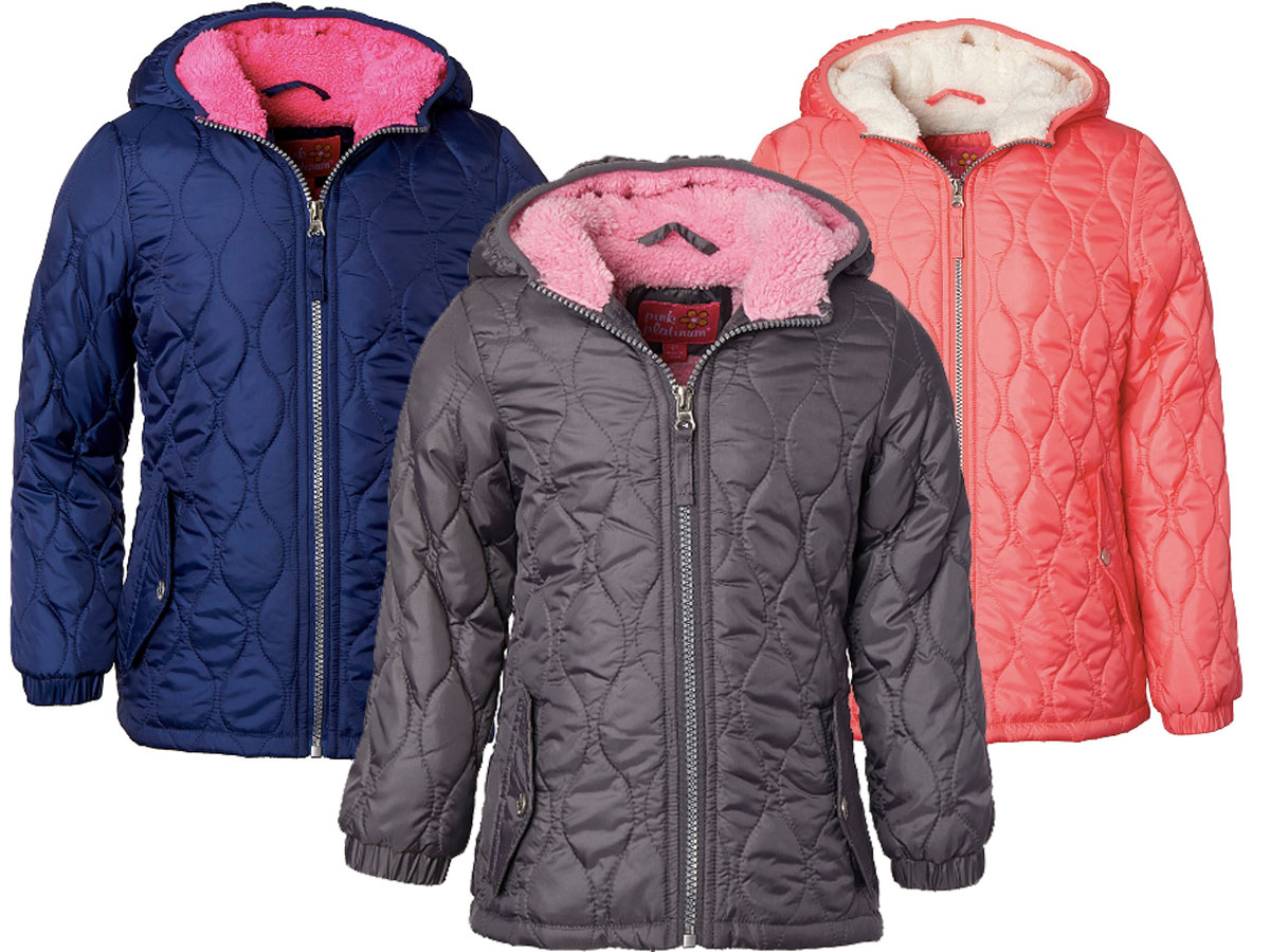 toddler and girls quilted coat Zulily