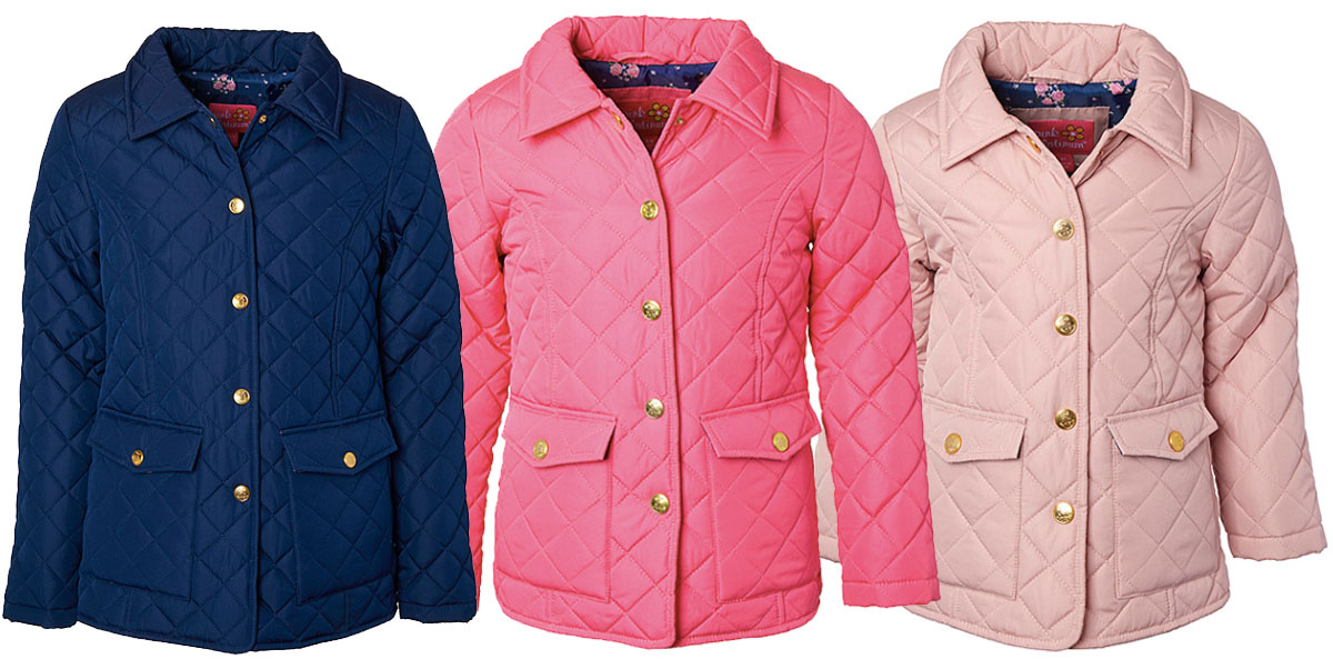 girls toddler quilted jackets