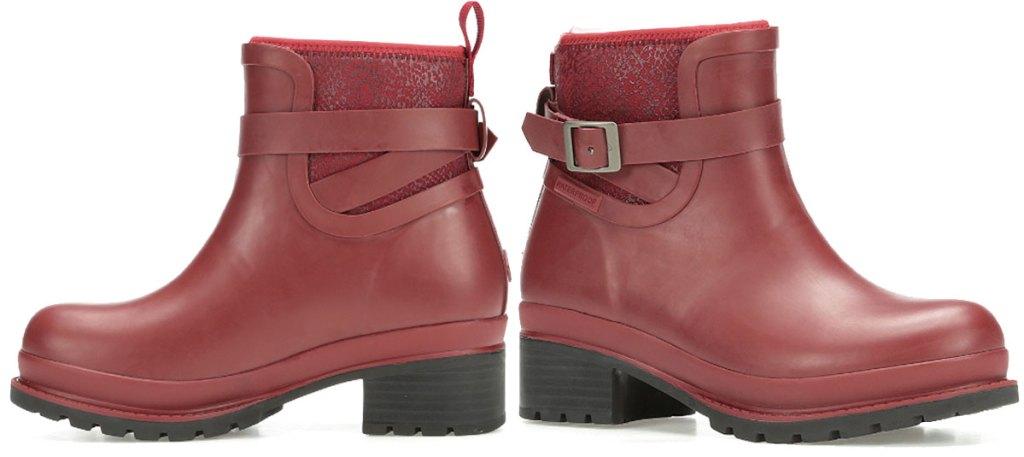 original muck boot company red cordova ankle boot