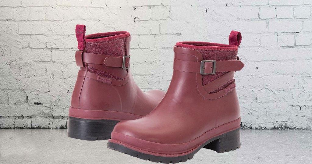 original muck women's ankle boots