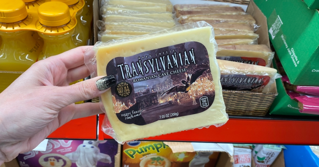Romanian cave cheese