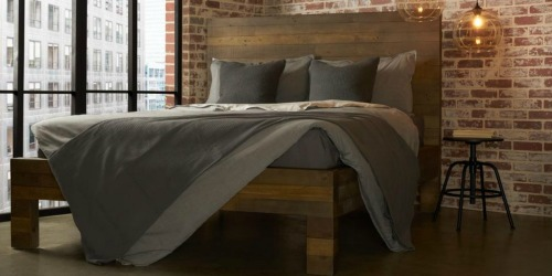 50% Off Reclaimed Wood Beds at Lowe's & Home Depot