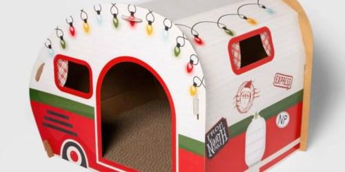 Adorable Wondershop Cat Scratchers at Target | Retro RV Camper, Ski Chalet & More
