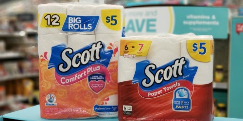 Scott Comfort Plus Bath Tissue 12-Count Only $2.75 at Walgreens + More | Stock Up Price