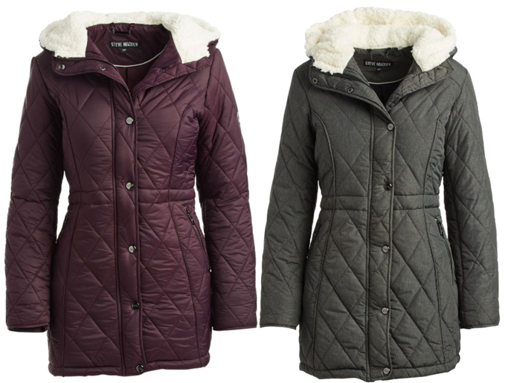 zulily steve madden jackets
