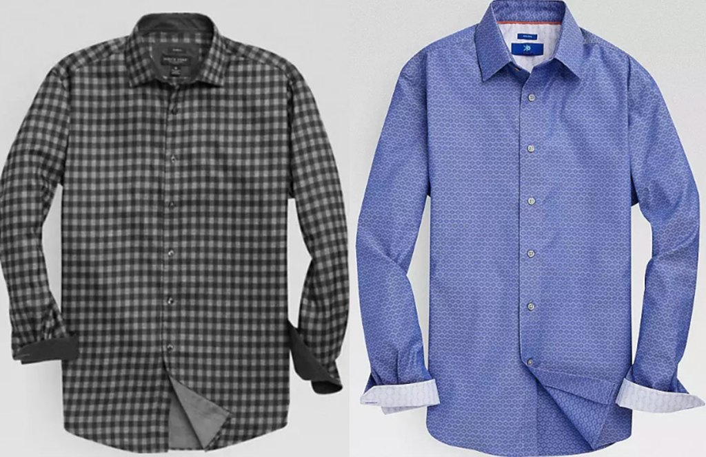 the men's wearhouse long sleeve shirts