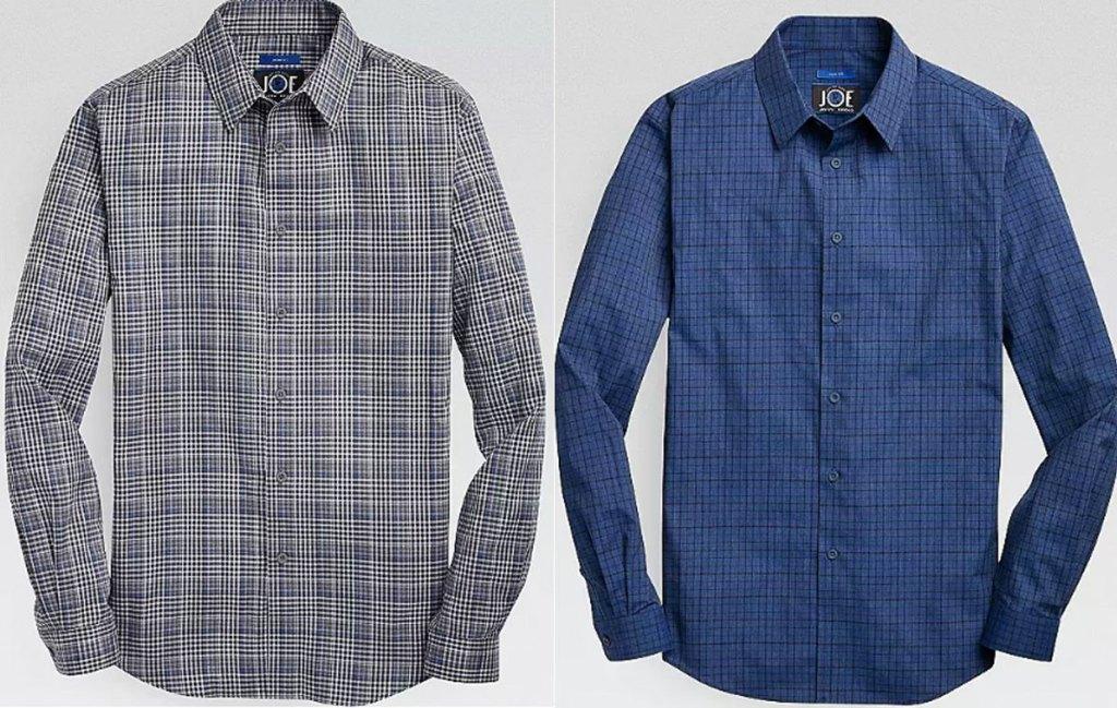 mens' wearhouse joe joseph abood long sleeve shirts