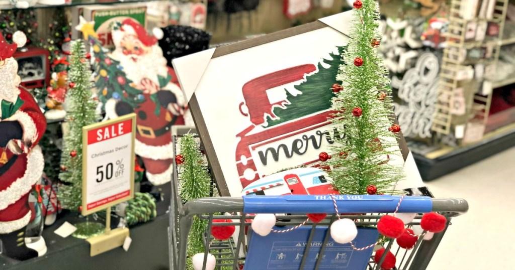 shopping cart hobby lobby christmas