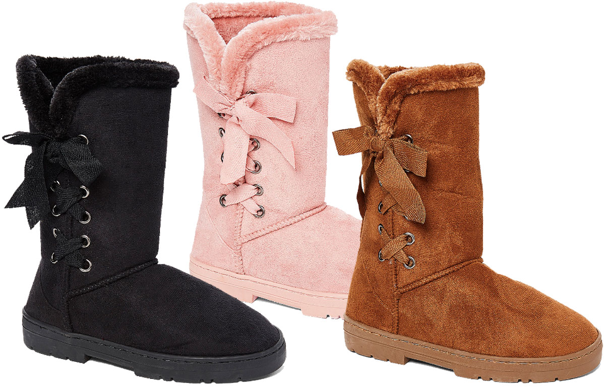 chatz by chatties side tie boot