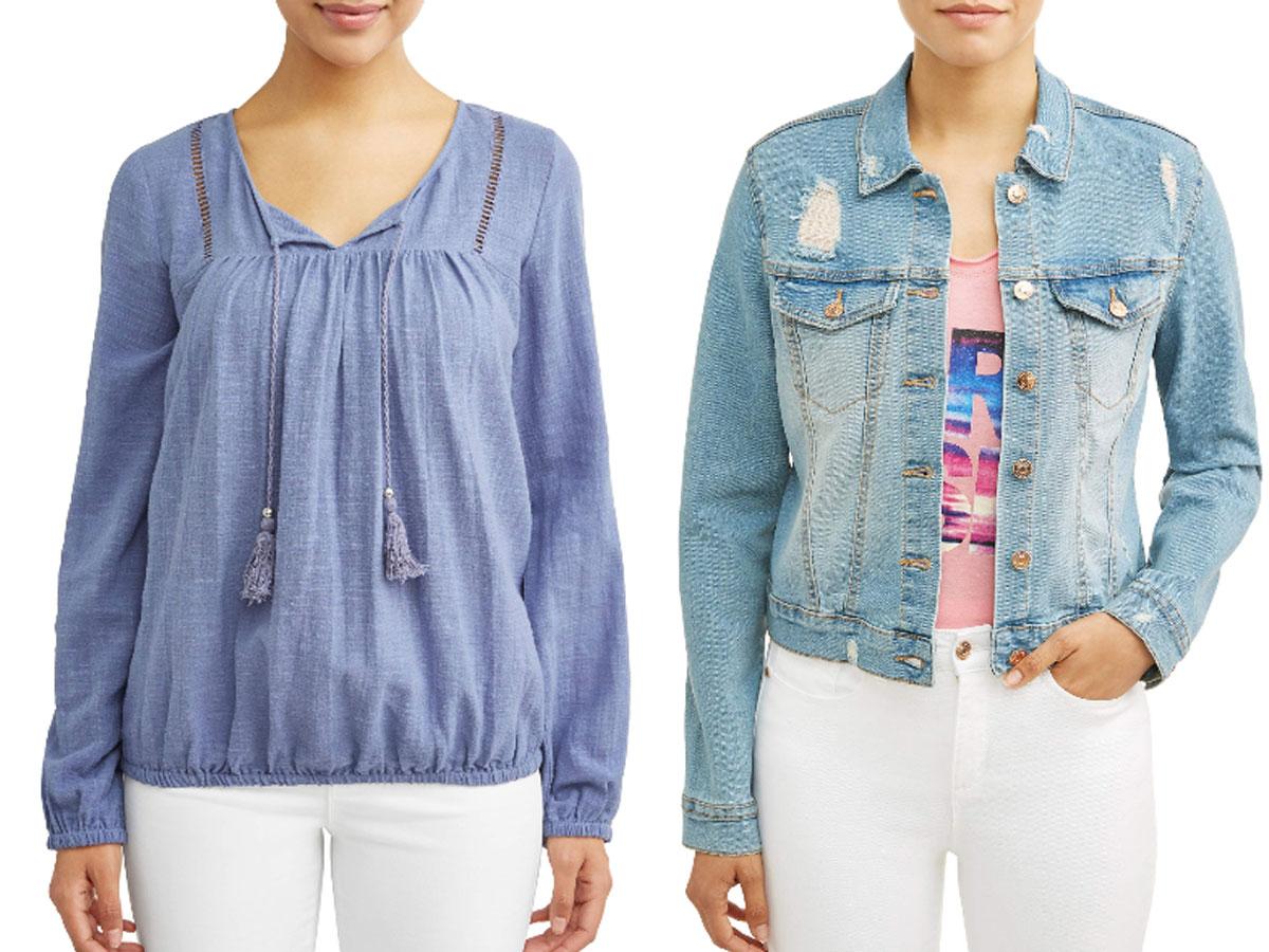 Sofia vergara shirt and jean jacket walmart