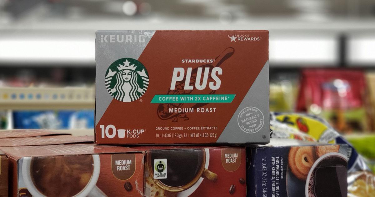 starbucks 10 ct k cups plus