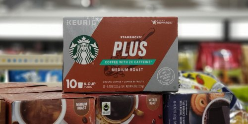 New Starbucks Coupon = $3.99 K-Cups After Cash Back at CVS (Starting October 6th)