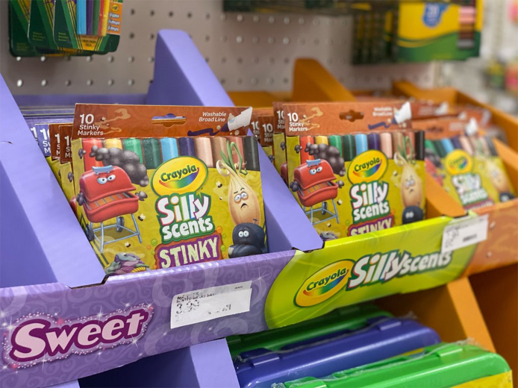 Crayola Silly Scents Washable Markers Only $2.39 at Target ...