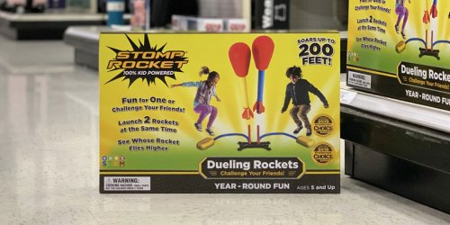Stomp Rocket Dueling Super Rockets w/ Launch Pad as Low as $4.71 at Target (Regularly $19.99)