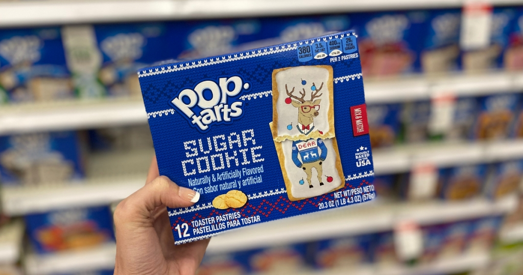Sugar Cookie Pop Tarts
