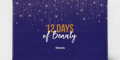 Target's 12 Days of Beauty Advent Calendar is Back on November 3rd