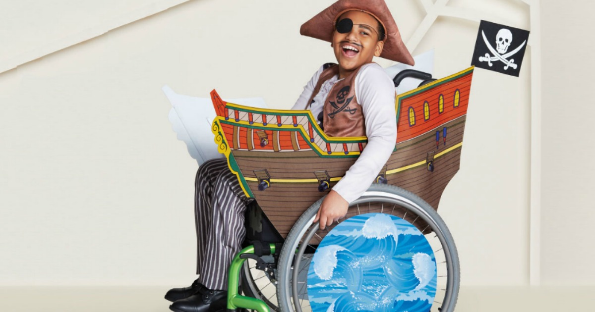 target adaptive pirate ship halloween costume