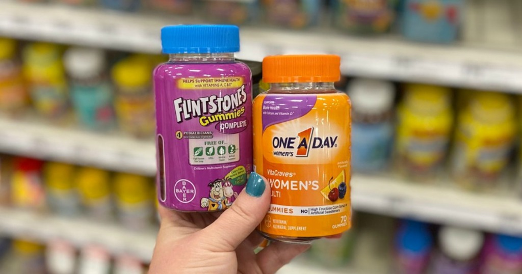 flintstones and one a day vitamins at target