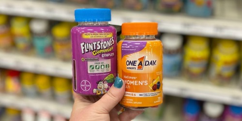 Print This Coupon NOW to Save $2/1 Flintstones or One A Day Vitamins