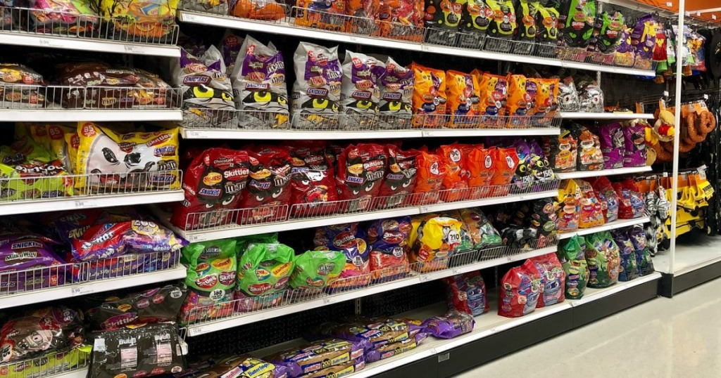 halloween candy at target