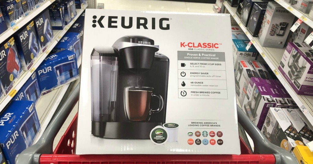 keurig classic coffee maker at target
