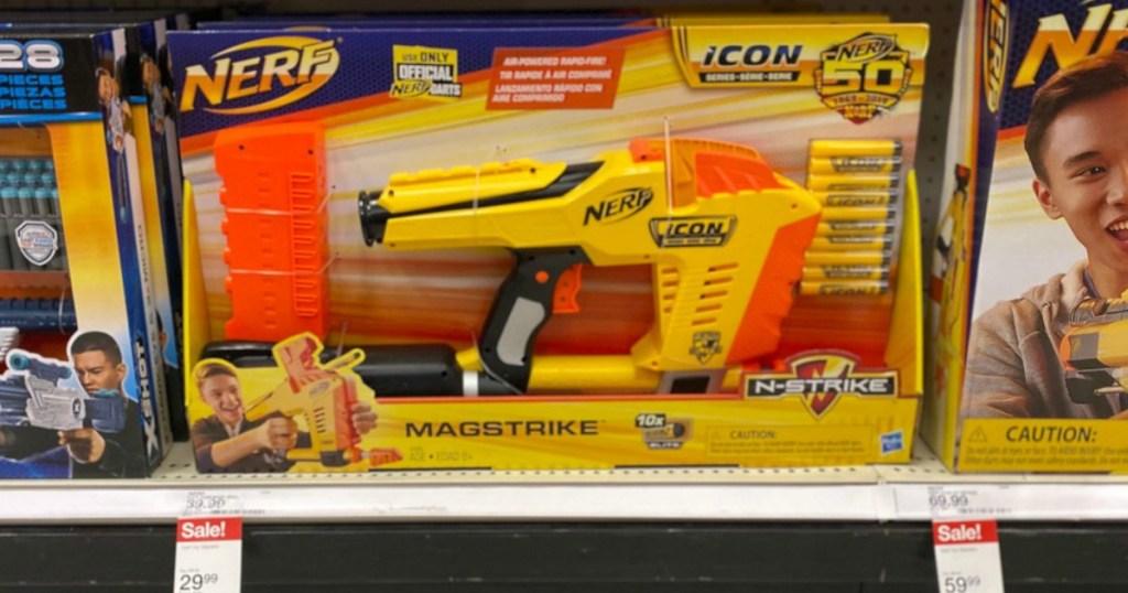 nerf magstrike dart blaster toy at target