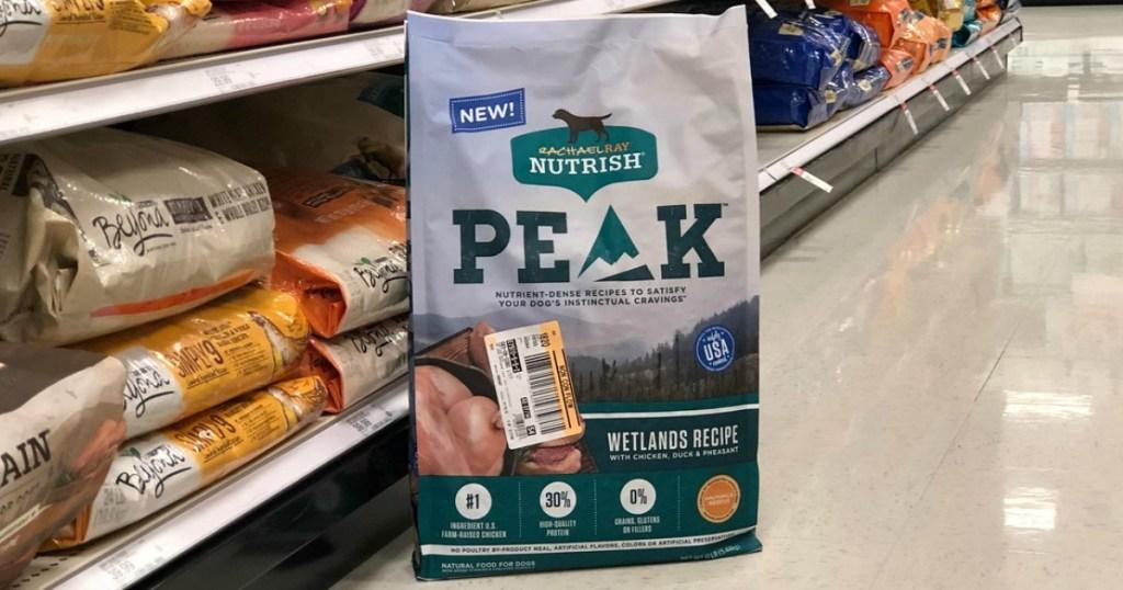 rachael ray peak dog food at target