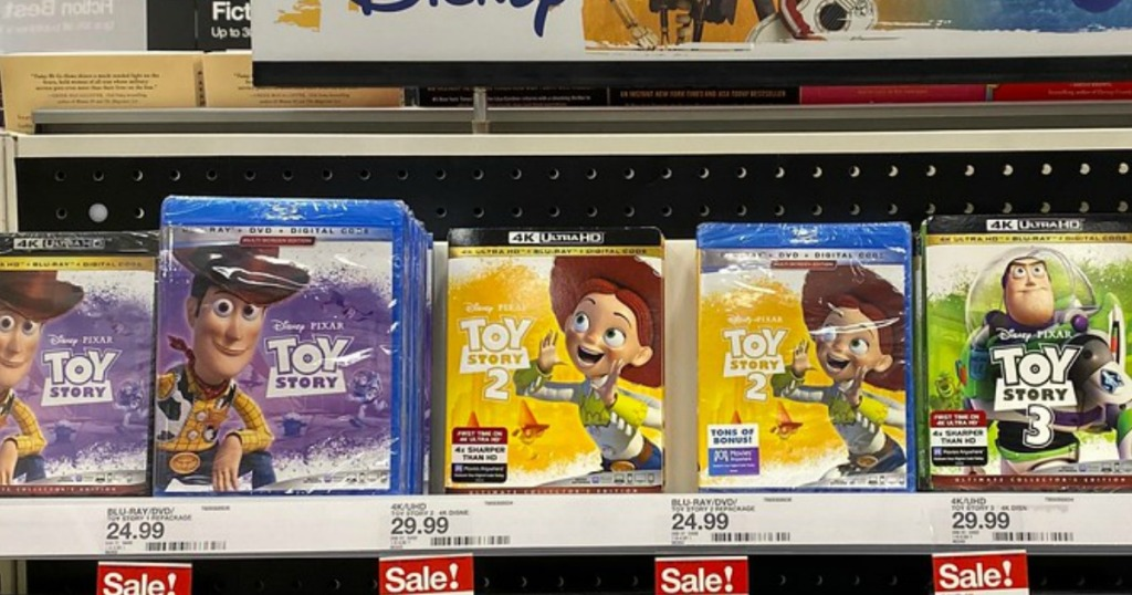 toy story dvd at target
