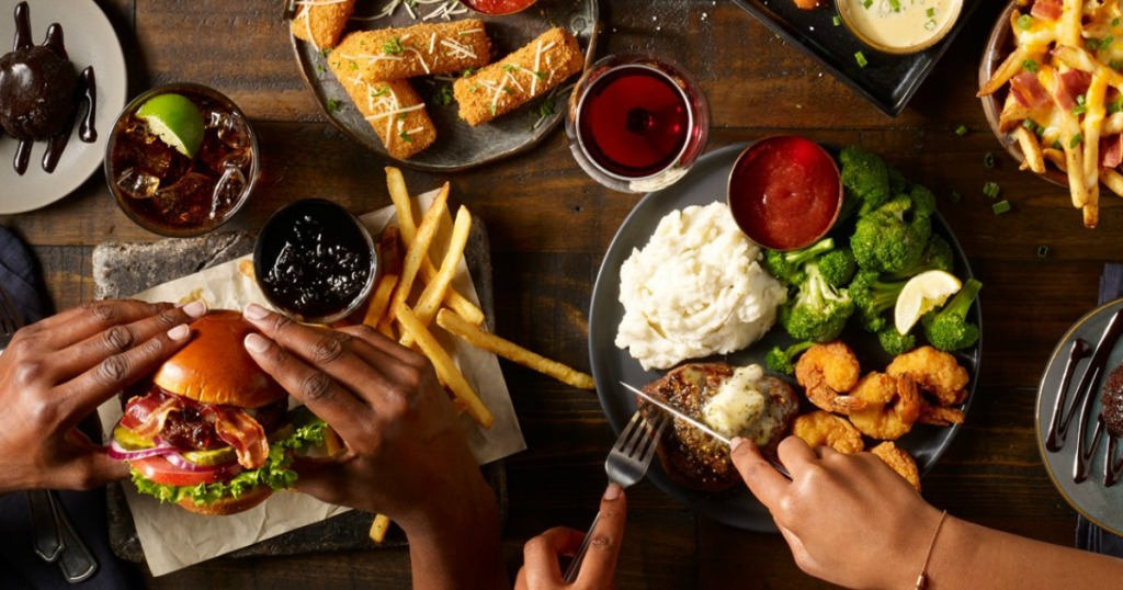 Tgi Fridays Is Offering A 3 Course Feast For Two For 20