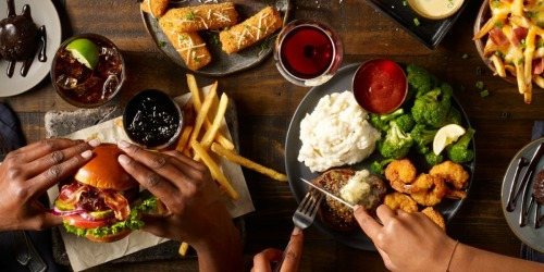 TWO Appetizers, TWO Entrees + TWO Desserts Only $20 at TGI Fridays