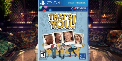 That's You! PlayStation 4 Party Game Only 99¢ at Best Buy