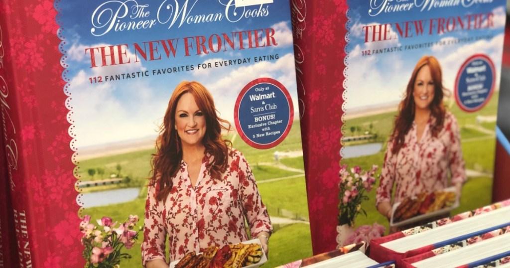 pioneer woman cooks new frontier cookbook at walmart
