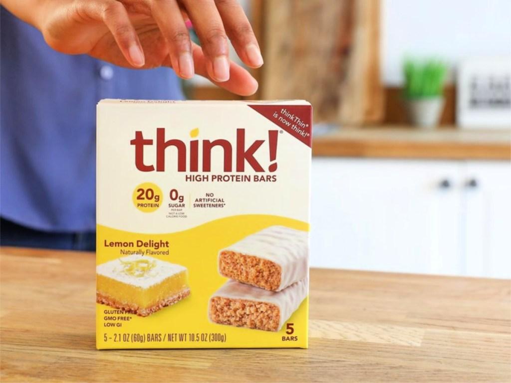 thinkThin Lemon Delight High Protein Bars