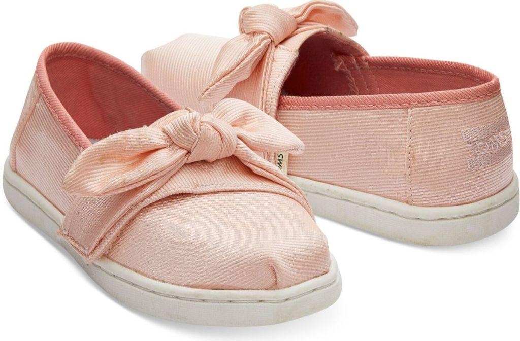 toms blush tiny shoes