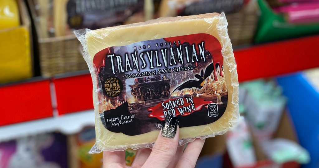 Wine-soaked Transylvanian cave cheese