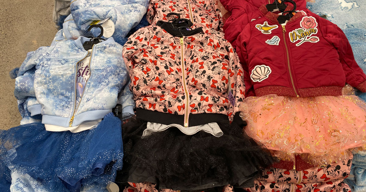 disney 3 piece outfits for girls