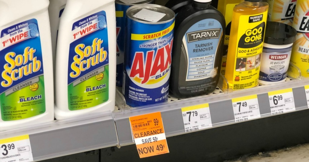ajax cleanser clearance at walgreens