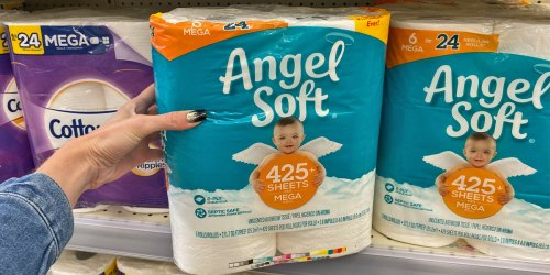 New Angel Soft Coupon = Mega Rolls 6-Pack Just $3.95 at Walgreens (Starting October 6th)