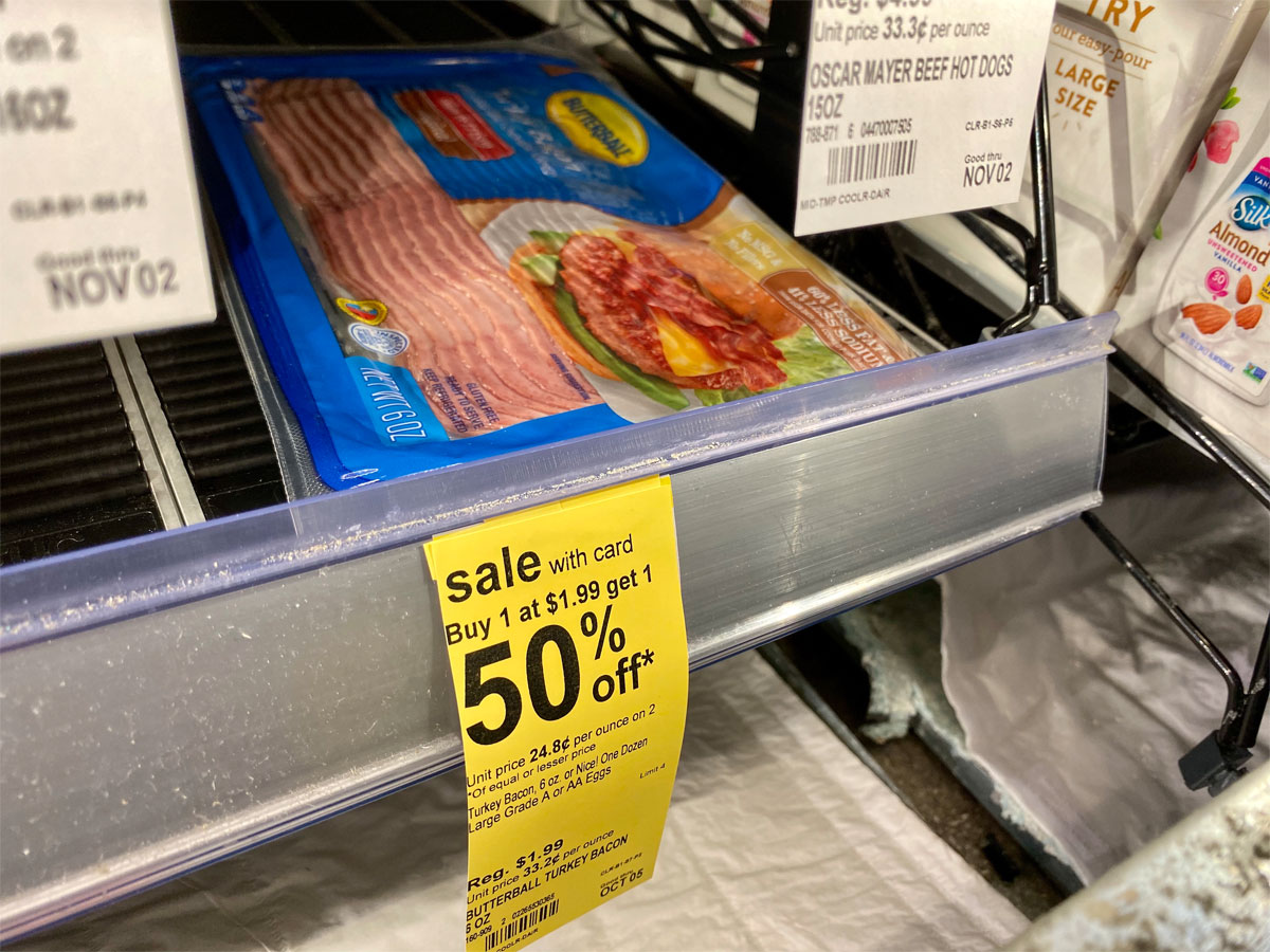 butterball turkey bacon walgreens buy 1 get 1 50% off