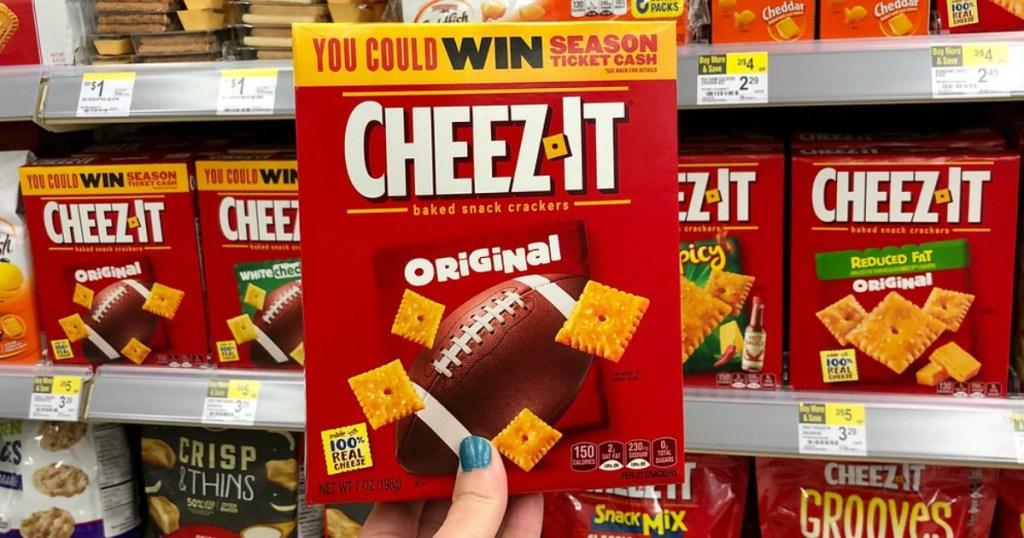 cheez-it crackers at walgreens