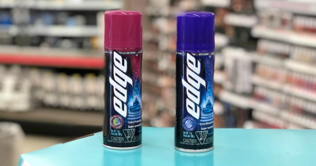 edge shave gel at walgreens