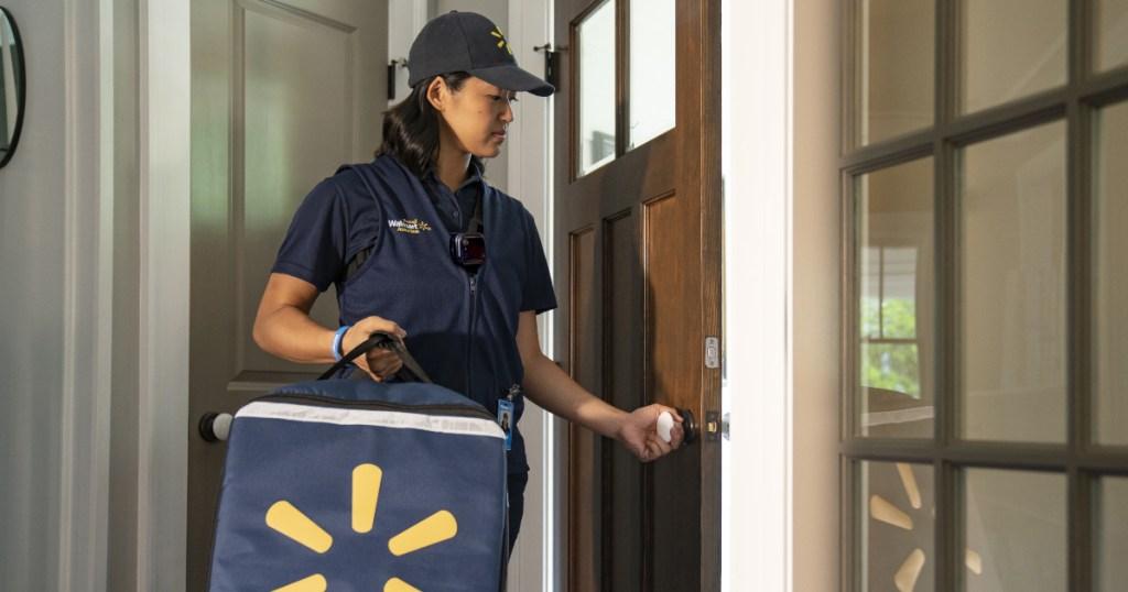 Walmart InHome delivery person
